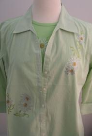 Daisy Stone 3/4 Sleeve Shirt