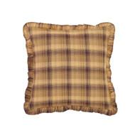 Prescott Filled Pillow Fabric Ruffled 16x16