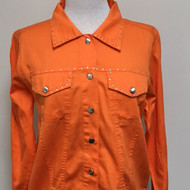 Just My Style Jacket  - Orange