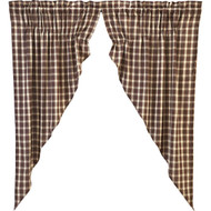 Rory Prairie Curtain Lined Set of 2 63x36x18
