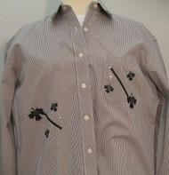 Black Leaf L/S Shirt