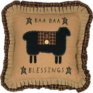 Baa Baa Blessings Pillow 18x18