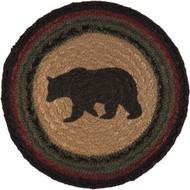 Wyatt Bear Jute Trivet 8