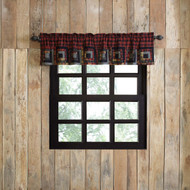 Cumberland Patchwork Valance Lined 16x72