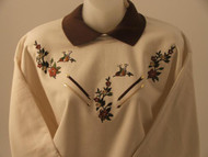 Fall Flower Sweatshirt