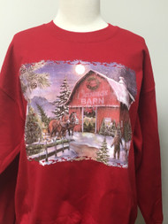 The Cmas Barn Sweatshirt