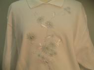 Mint Floral Sweatshirt