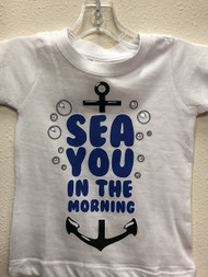 Sea You in the Morning Anchor Youth Tee