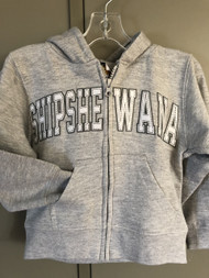 Grey Shipshe Zip Hoodie (Youth)