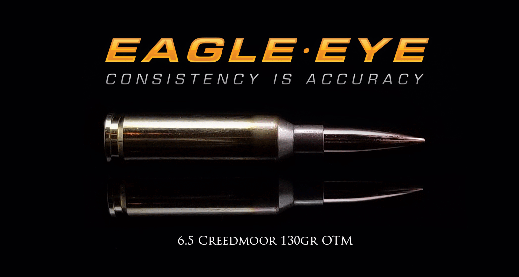 6.5 Creedmoor 130gr Hybrid by Eagle Eye Ammo