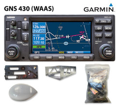Garmin GNS 430W, 28 Volt ONLY (Upgraded to WAAS) Kit