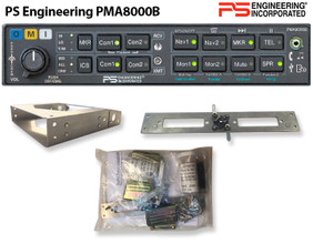 PS Engineering PMA8000B Audio Panel Kit, version -0402 For Avidyne R9