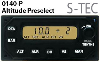 S-TEC/Genesys Aerosystems ST-360 Altitude Selector/Alerter (LCD) System