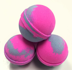 Bath Bombs-Bauble Balls~Raspberry Vanilla