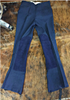 Ladies' Polyester Jod Pants w/ Suede Patch