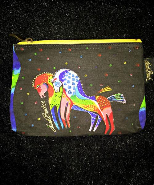 Laurel Birch Yellow Zip Cosmetic Bag