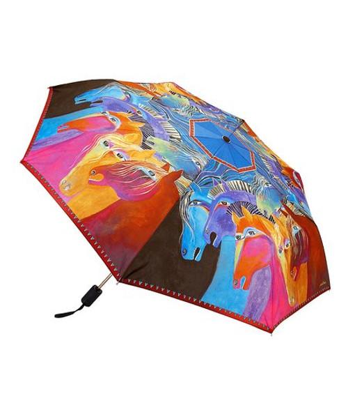Laurel Burch Horsey Umbrella C