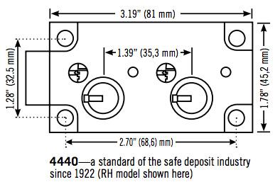sargent and greenleaf safe deposit lock 4440 ask locksmith inc