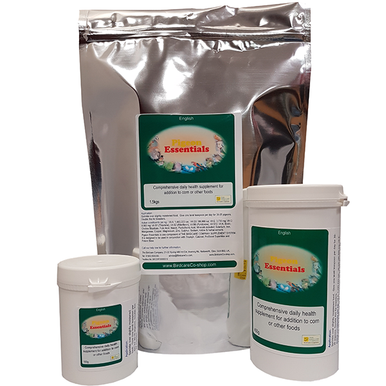 Super concentrated on food vitamin, mineral, amino acid and herbal supplement for pigeons.  Keeps birds in top condition all year round.