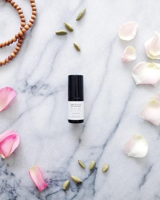 rose, cardamom & sandalwood botanical perfume