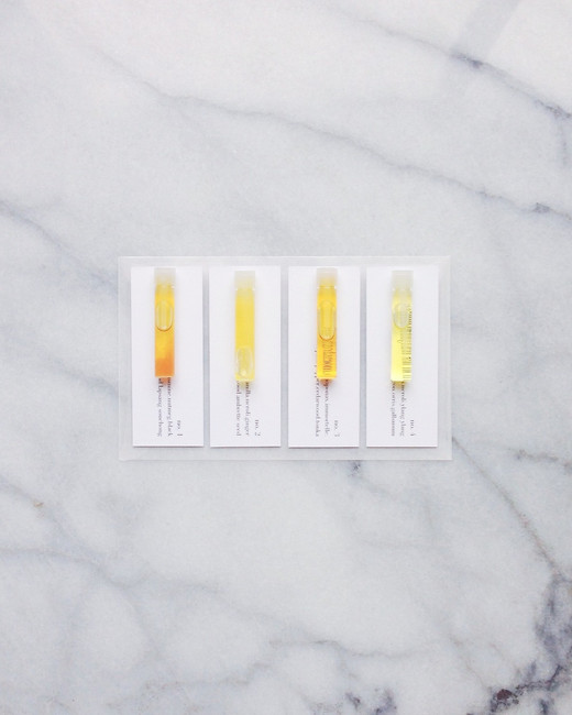 perfume serum sample set