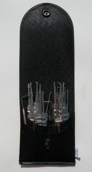 30 Piece Laminated Ripple Core Handle Lock Pick Set