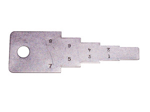 Decoder Key (Tubular Pick)