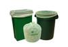 Compostable Trash Bag, 33 Gallon, 33 x 40, .8 Mil, Green, 200/case