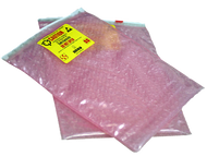 Anti-Static Bubble Pouches with Slider Top