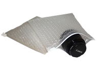 Clear Bubble Pouches with Slider Top