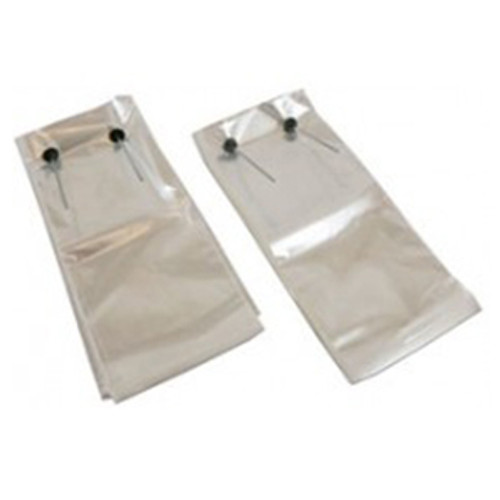 Wicketed Poly Bags, 1.25 Mil, 11 x 4 x 11, Clear, 1000/case