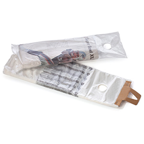 Newspaper Bags with Hang Hole, .4 Mil, 7 1/2 x 21, Clear with Black Print, 2000/case