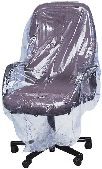 Furniture Covers, Small Chair, 1 Mil, 70 x 45, Clear, 215/roll