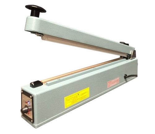 20 Inch Impulse Hand Sealer, With Cutter, 5mm Seal, 1/Each