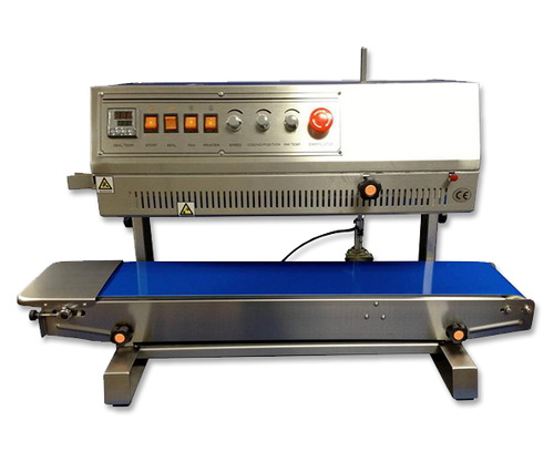 Horizontal, Dry Ink Coding, Stainless Steel Band Sealer