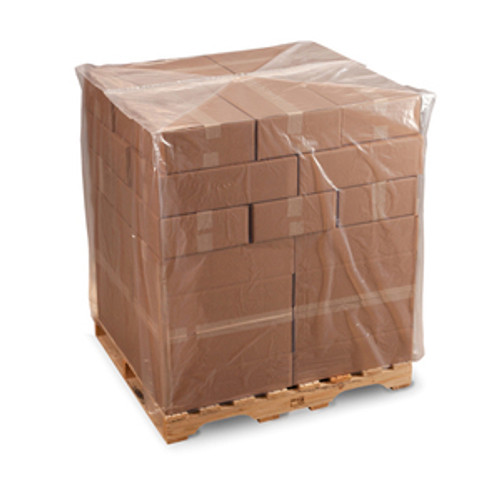Pallet Covers, 4 mil,  32 x 28 x 48, Clear, 80/case