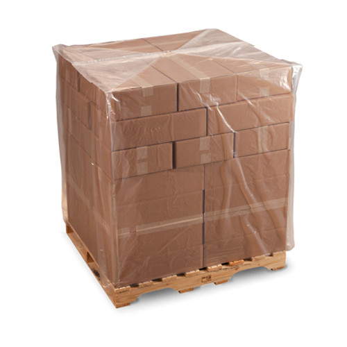Pallet Covers, 2 mil,  32 x 28 x 84, Clear, 90/case