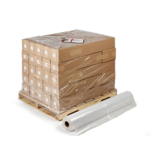 Pallet Size Shrink Bags on Rolls, 50x48x84x004, Clear, 25/Roll