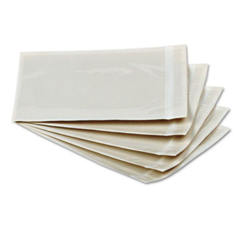 Packing List Envelopes, 5 1/2 X 10, Clear Face, 1000/case