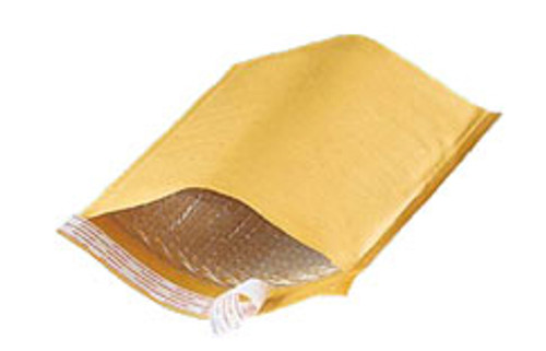 Self Sealing Bubble Mailer, 6 x 9, Kraft, 250/Case