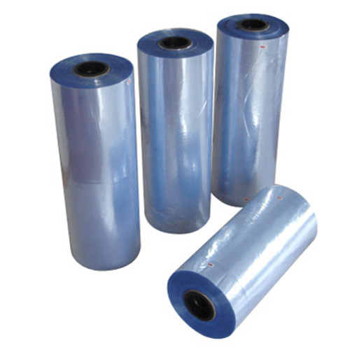 "10"" 75 gauge, 500 ft PVC Shrink film, Centerfold"