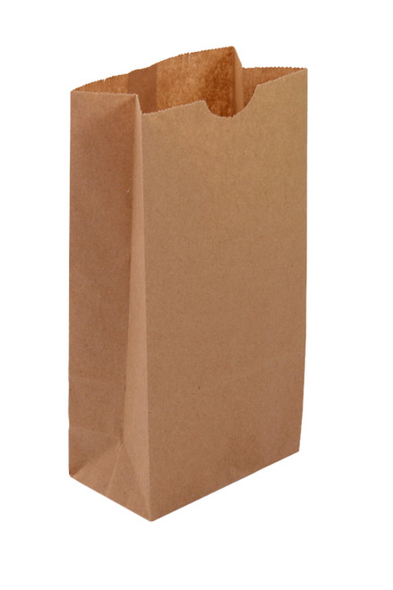 Modified 1/6 Barrel SOS Fruit Bag, 11 X 6 X 17, Recycled Natural, 250/case