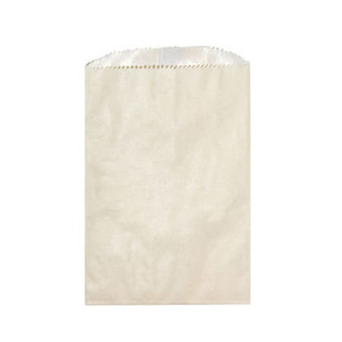 Wax Lined Glassine Gourmet Bag, 6.75 x 9.25, Cream, 1000/case
