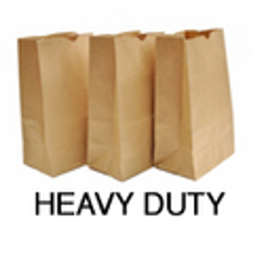 Recycled Hardware SOS Bag, 8-1/4 X 5-1/4 X 18, #25, Kraft, 250/case