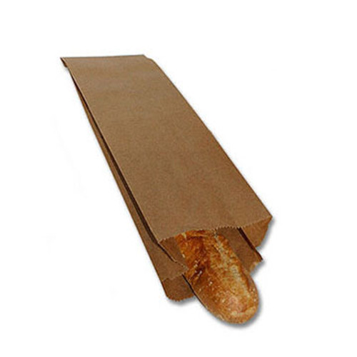 Recycled Pint Liquor and Bread SOS Bag,  5 X 3-1/2 X 18, Kraft,1000/case