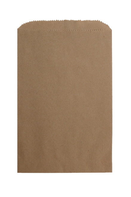 Recycled Merchandise Bag, 5 X 7-1/2, Kraft, 1000/case