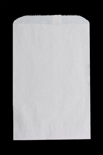 5 X 7-1/2 WHITE MERCHANDISE BAG 1000/case