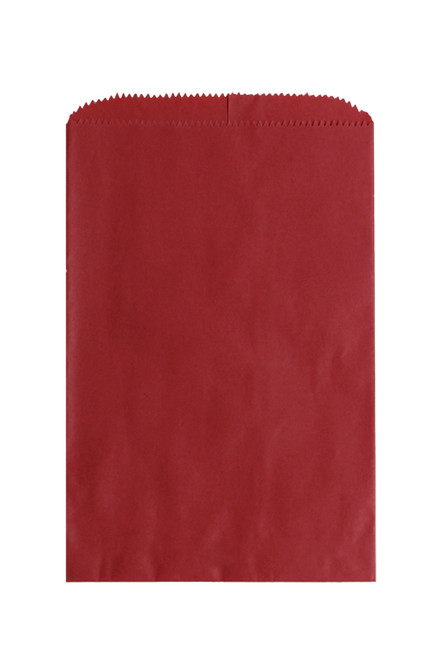 8-1/2 x 11 RED NATURAL MERCHANDISE BAG 1000/case