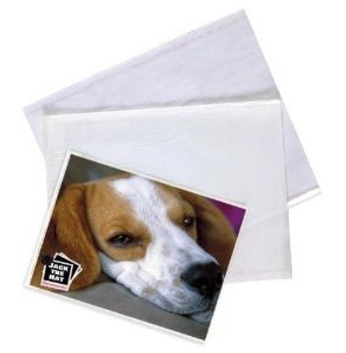 Reclosable High Clarity Poly Bags with Lip and Tape, 9.1 x 12.2, Clear, 500/Case