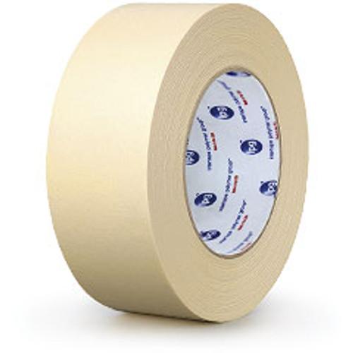 Masking Tape, 1.5in x 60yds, Beige, 48 Rolls/Case